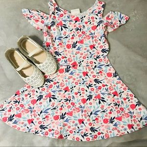Summer Girls Floral Dress 🌸